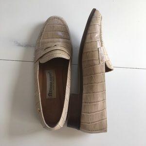 Etienne Aigner Women's Upper Leather Loafers Sz 7